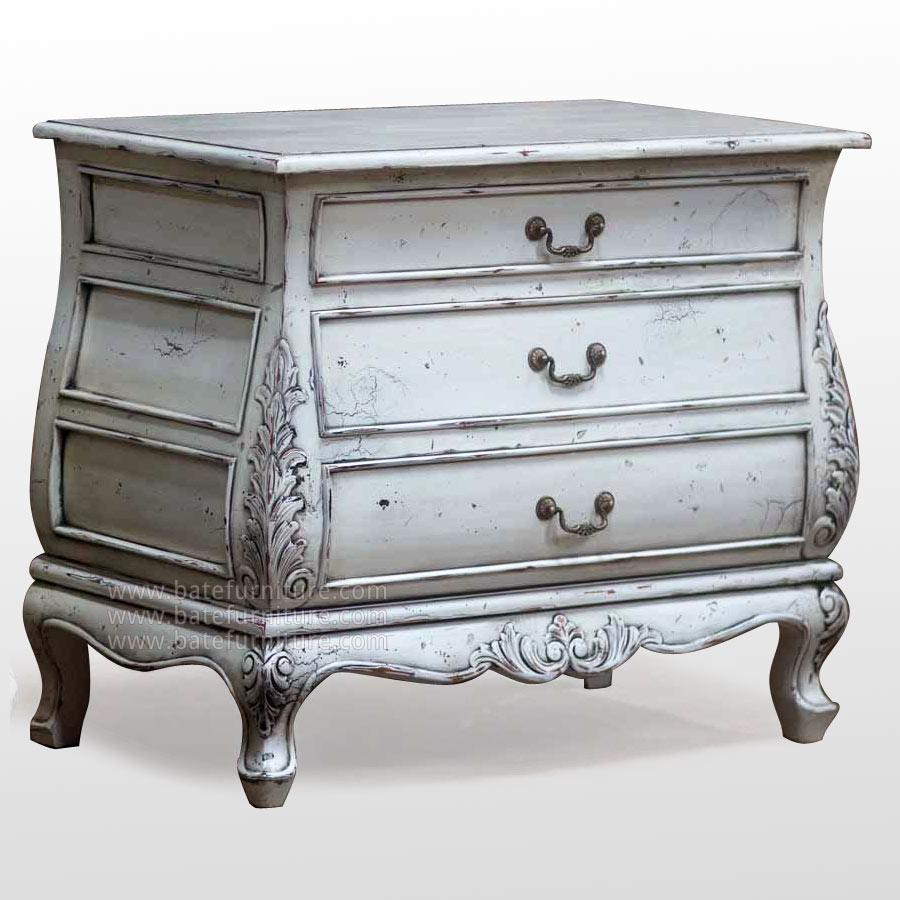 Muebles decapados en blanco recicla tus muebles - Muebles coloniales blancos ...