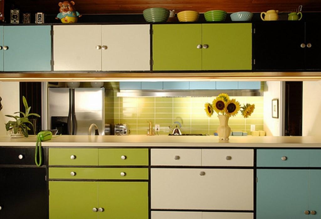 Pintar muebles de cocina recicla tus muebles Kitchen cabinets colors 2014