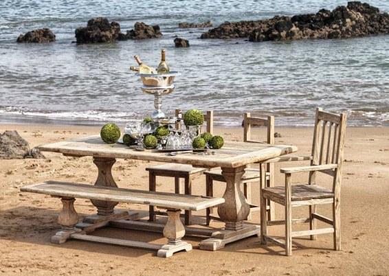 madera playa