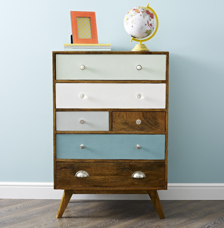 Muebles con cajones reciclados recicla tus muebles - Como reciclar muebles viejos ...