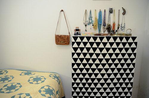 Decoracion-geometrica-para-un-armario