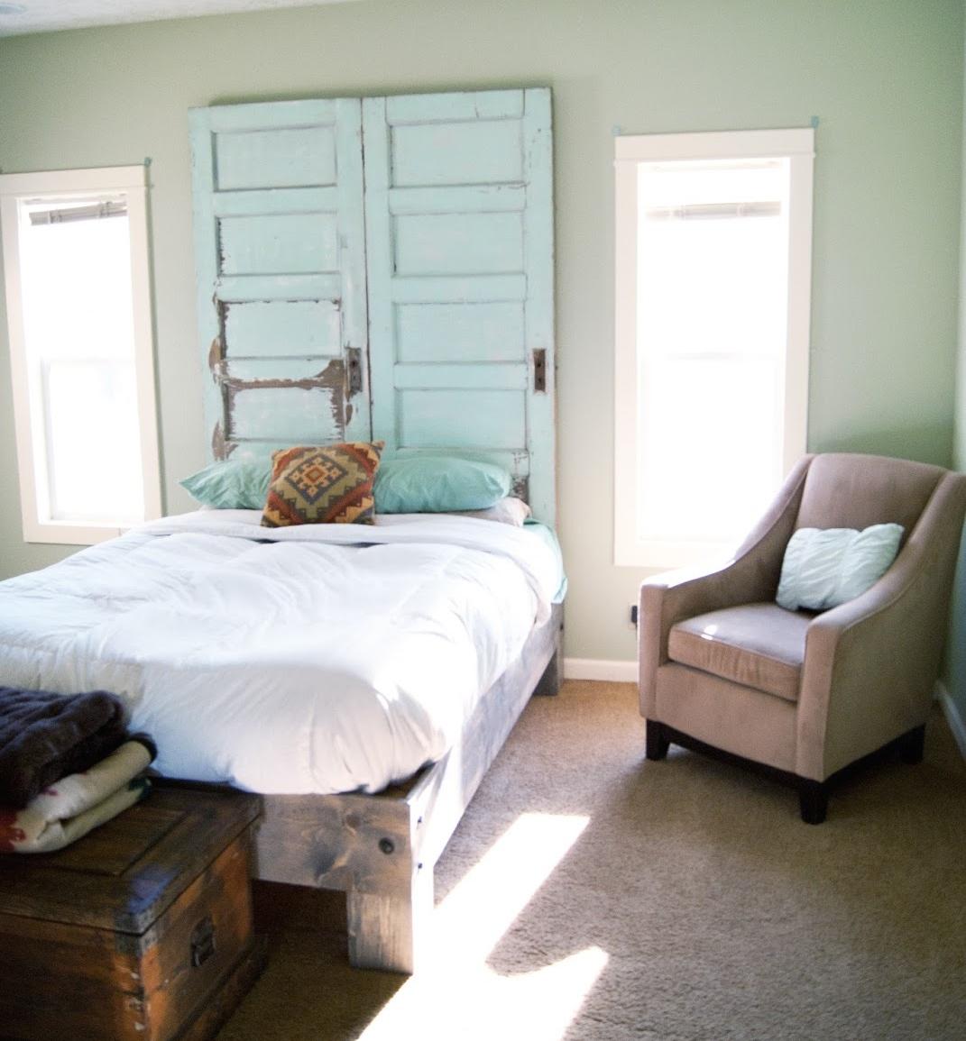 Cabeceros reciclados con amor recicla tus muebles - Cabeceros de cama antiguos ...