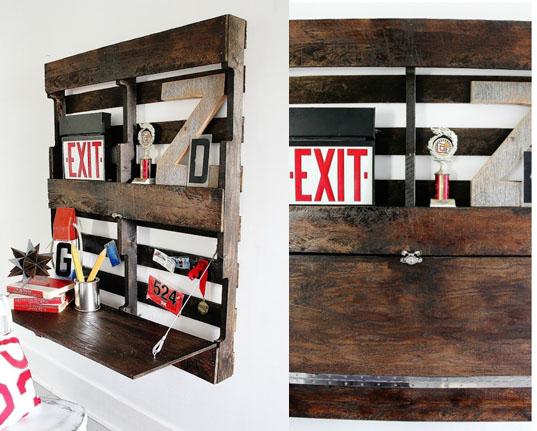 construir-un-escritorio-de-pared