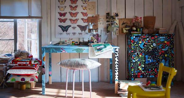 Muebles forrados de tela recicla tus muebles for Telas tapiceria ikea
