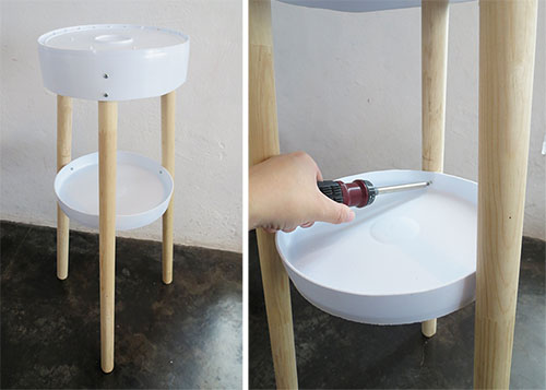 Cómo hacer una mesa con cubetas de pintura recicladas | Recicla Tus ...