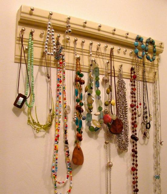 Reciclar objetos cotidianos recicla tus muebles - Colgador de collares ...