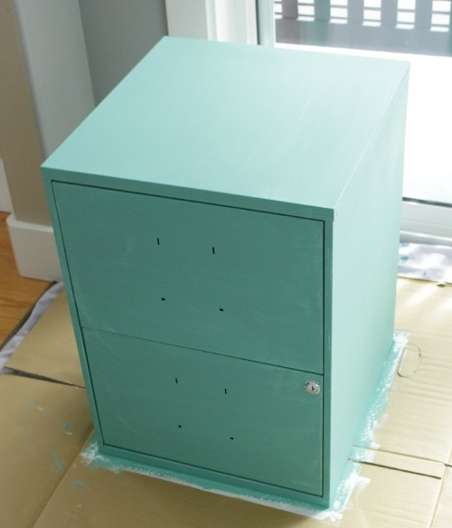 Chalk-Painted-Stenciled-Filing-Cabinet-one-coat-of-bliss-by-The-Happy-Housie