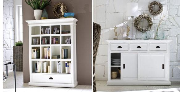 Muebles blancos c mo pintarlos recicla tus muebles - Muebles blancos ...