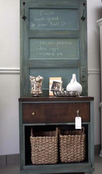 Reciclar puertas viejas recicla tus muebles for Reciclar estanterias viejas