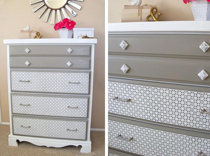 Decorar cajones con chapa de metal recicla tus muebles for Muebles de chapa