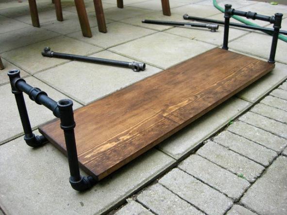 Mueble bar de estilo industrial  Recicla Tus Muebles