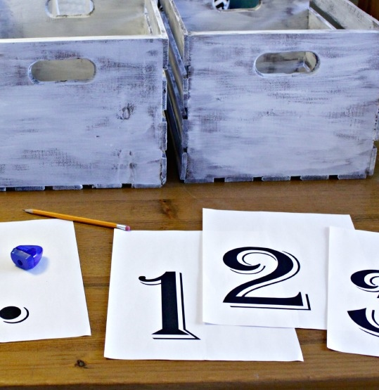 Dry-Brush-over-Stain-rustic-numbered-crates-printed-numbers-at-the-happy-housie