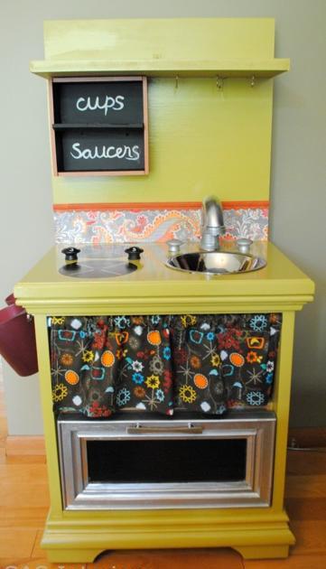 Cocinas de juguete con muebles reciclados | Recicla Tus Muebles