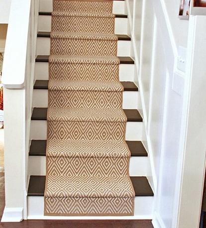 Escaleras ideas para renovarlas recicla tus muebles - Alfombras para escaleras ...
