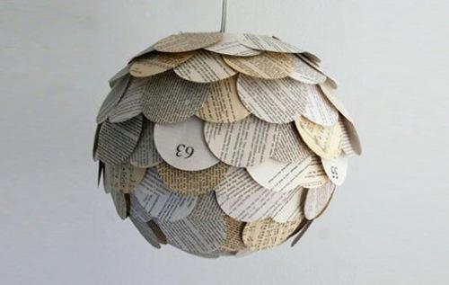 Reciclar papel para hacer lámparas | Recicla Tus Muebles