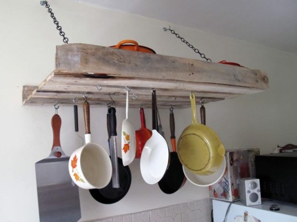 Cocinas con muebles reciclados - Decoracion
