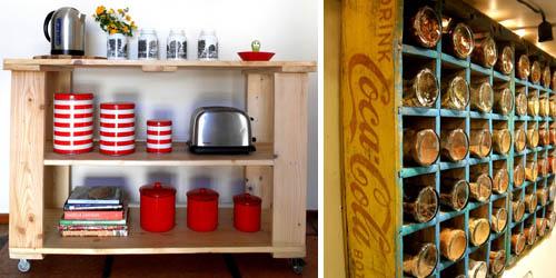 Cocinas con muebles reciclados  Recicla Tus Muebles