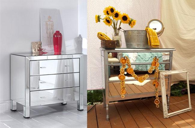Renovar muebles con espejos recicla tus muebles - Renovar muebles antiguos ...