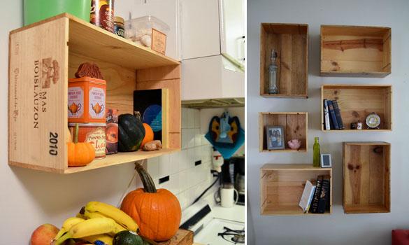 Muebles con cajas de vino recicla tus muebles - Estanterias de vino ...