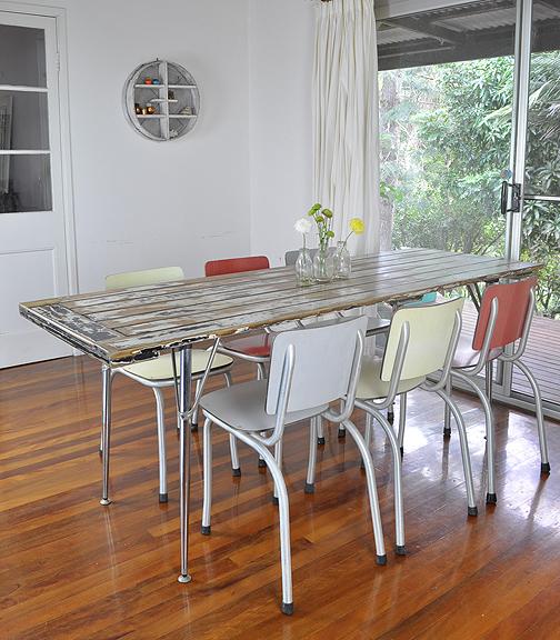 Mesas hechas con puertas viejas perfect mejores ideas for Mesas hechas con puertas antiguas