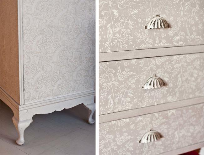 Rodillos para pintar estampados recicla tus muebles - Muebles en crudo para pintar ...