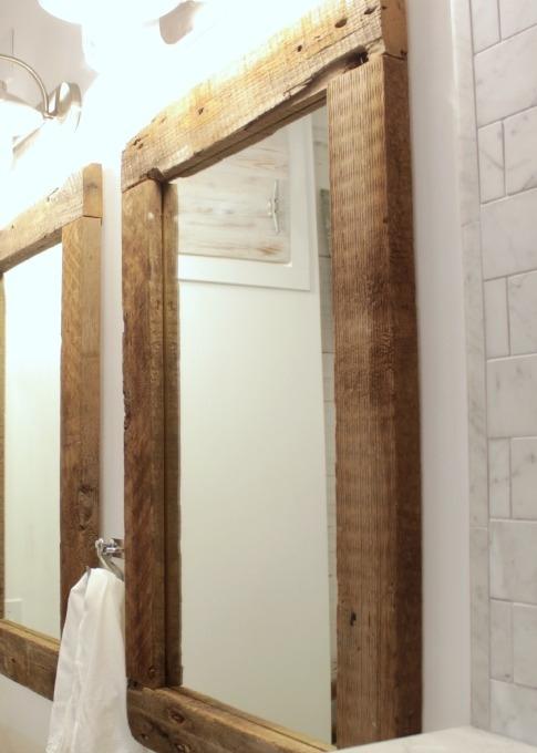 Reciclar listones viejos de madera recicla tus muebles for Espejos de pared madera