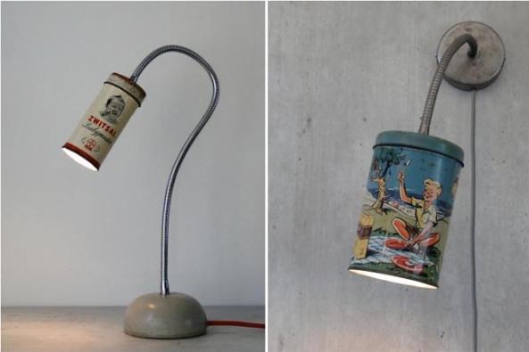 lamparas-con-latas-recicladas
