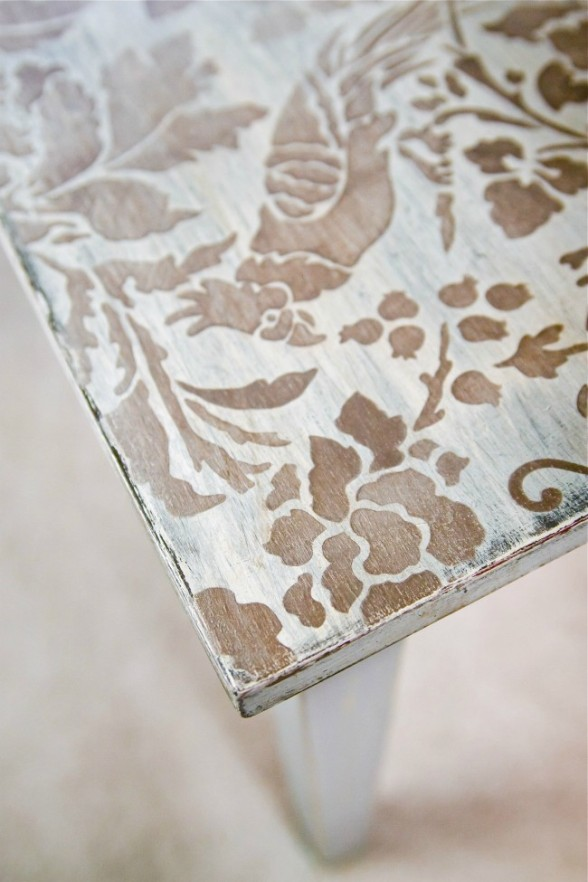 Stenciled-Coffee-Table-3-offbeat-+-inspired-650x975