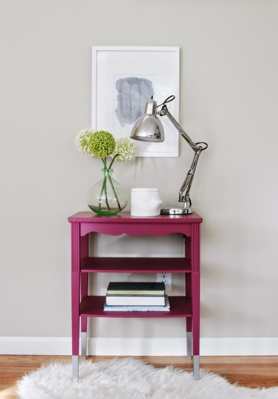 Magenta+Table+with+Silver+dipped+legs+WD-b-6