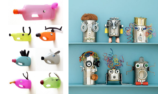 Ideas de reciclaje para ni os recicla tus muebles - Manualidades para ninos reciclaje ...